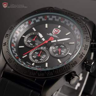 Shark Tachymeter Bezel Hours Display Swell Series Chronog